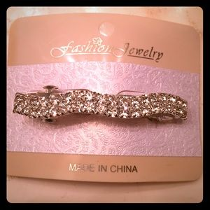 Bedazzled hair clip
